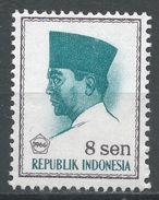 Indonesia 1966. Scott #671 (MH) President Sukarno, Président - Indonésie