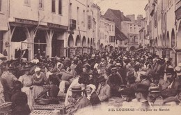LOUHANS UN JOUR DE MARCHE (dil315) - Louhans