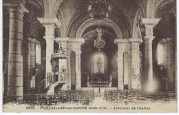 CPA 21 ( Cote D'Or ) - PONTAILLER Sur SAONE - Interieur De L'Eglise - France