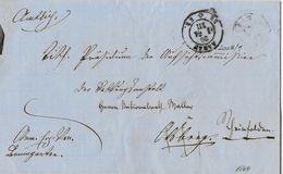 BoM Brief Ohne Marke → 1864 AARAU Nach RHEINFELDEN ►Amtlich◄ - Schweiz
