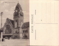 Metz- Portail De La Gare - F Conrad, Metz N°49 - Metz
