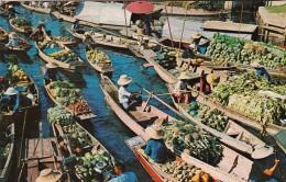 Thailand Bangkok Wad Sai Floating Market - Tailandia