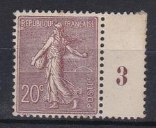 France 1903 - Semeuse N°131** Millésime - 1903-60 Sower - Ligned