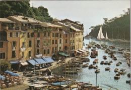 Italy Portofino Canal Scene