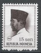 Indonesia 1966. Scott #673 (MH) President Sukarno, Président - Indonésie