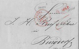1842 BASEL → Brief Basel Nach Burgdorf  ►zu Spät WI.2433/3 → BASEL Wi.2415/1→ Burgdorf 672/2&#x25C - Schweiz