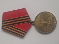 Medalla 1945-1995. 50 Aniversario 2ª Guerra Mundial. URSS. Rusia Comunista - Rusia