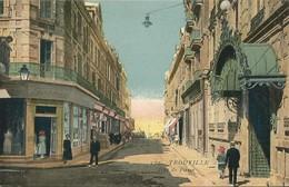 TROUVILLE  -  14  -  Rue De Paris ( Carte Colorisée ) - Trouville