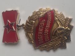 Medalla Competicion Socialista 1973. URSS. Rusia Comunista - Rusia