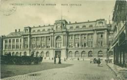 BRUXELLES - Place De La Monnaie - Poste Centrale - Squares