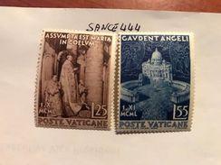 Vatican City Maria In Heaven Mnh 1951 - Unused Stamps