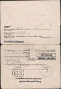 Zweite Wältchrieg Formulaire Stalag 317 Disciplinaire Fortes Têtes Ou évadés Récidivistes XVIII C Markt Pongau - Briefe U. Dokumente
