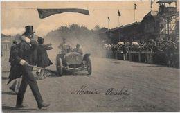 CPA Course Voiture Automobile Gordon Bennett Comte Zborowsky à Vienne Circulé - Sport Automobile
