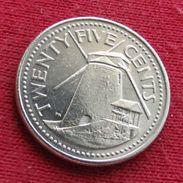 Barbados 25 Cents 2000 KM# 13 - Barbades