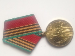 Medalla 1945-1985. 40 Aniversario Victoria 2ª Guerra Mundial. URSS. Comunista - Rusia