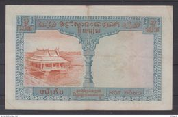 INDOCHINE CAMBODGE LAOS VIETNAM  1953/4  NOTES $1   COMBINED ISSUED PICK N°94. FINE    Réf  3Q4 - Indochine