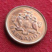 Barbados 1 Cent 2002 KM# 10a Barbades Barbade - Barbades