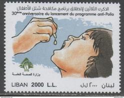 LEBANON, 2016, HEALTH, CHILDREN, ANTI POLIO CAMGAIGN,1v - Disease