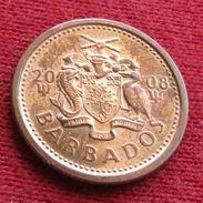 Barbados 1 Cent 2008 KM# 10b Barbades Barbade - Barbades