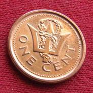 Barbados 1 Cent 2011 KM# 10b Barbades Barbade - Barbades