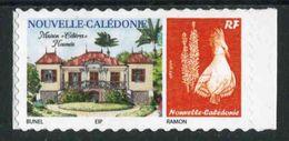 """Timbre ** De 2014 Autocollant En Bord De Feuille """"Maison Célière Nouméa"""" - New Caledonia"""
