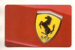 CARTE D'ACCES Mondial De L'Automobile  2004  STAND FERRARI - Tickets - Entradas