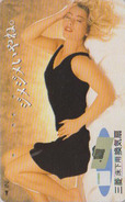 Télécarte THERMIQUE Japon / 110-011 - FEMME EROTIQUE - EROTIC GIRL Japan Thermo Phonecard - EROTIK FRAU - 2893 - Giappone