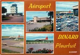 "/ CPSM FRANCE 35 ""Dinard Pleurtuit' / AEROPORT - Dinard"