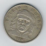 Cuba 3 Pesos 1990, First Issue, Che Guevara. USed, See Scans. Free Ship. To USA. NO PAYPAL. - Cuba