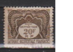 A O F       N°  TAXE 10      ( 2 )   OBLITERE  ( O 394 ) - A.O.F. (1934-1959)