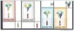 1997. Moldova, Grapes, 4v, Mint/** - Moldova