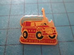 Pin211B Pin´s Pins / Beau Et Rare : AUTOMOBILES /  CONCESSIONS 4x4 DU 19 AU 22 DECEMBRE 1991 - Andere