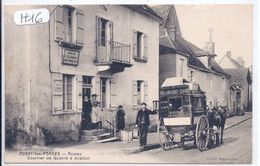 CUSSY-LES-FORGES-- MAISON PETIT-SERVICE DES DEPECHES AVALLON-CUSSY-QUARRE LES TOMBES-LIVRAISON A LA POSTE DECUSSY - France