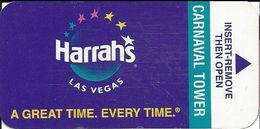 Harrah's Casino - Las Vegas, NV - Room Key Card - Hotel Keycards