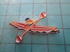 Pin211B Pin´s Pins / Beau Et Rare : SPORTS / CANOE KAYAK JEUX OLYMPIQUES DE BARCELONE - Canoeing, Kayak