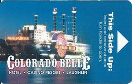 Colorado Belle Casino - Laughlin, NV - Hotel Room Key Card - Hotel Keycards