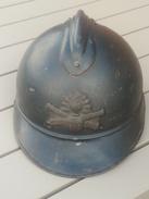 Casque Adrian Mle 1915 D'artillerie - Copricapi