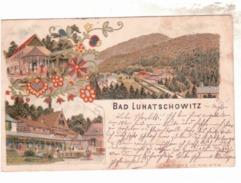 Bad Luhatschowitz- Luhacivice   Gelaufen 1897   B679 - Czech Republic