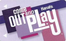 Harrah's Casino - Multiple Locations - Hotel Room Key Card Copyright 2012 - Cartes D'hotel