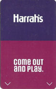 Harrah's Casino - Multiple Locations - Hotel Room Key Card With C-4146043 On Back - Hotel Keycards