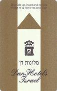 Dan Hotels Israel - Hotel Room Key Card - Hotel Keycards
