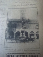 ILLUSTRAZIONE DEL POPOLO 1922 CANELLI MAZZE' PIANDELAGOTTI MODENA - Libros, Revistas, Cómics
