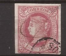 1866 Cuba Española Isabel II Edifil 66(º) 40c - Cuba (1874-1898)