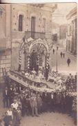 1-Località Anonima Da Identificare-Tema Religione-Folklore-Feste-Originale D' Epoca Primi 900 - Cartoline