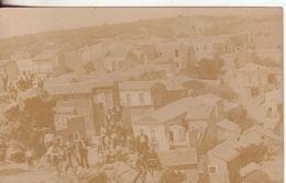 6-Località Anonima Da Identificare-Tema:Panorama Con Case-molto Animata-fotografica-Originale D'epoca Primi 900 - Cartoline