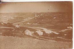 7-Località Anonima Da Identificare-Tema:Panorama Con Case-fotografica-Originale D'epoca Primissimi 900 - Cartoline