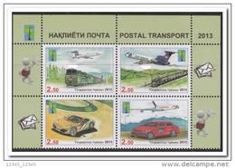 Tadzjikistan 2013, Postfris MNH, Trains, Cars, Planes - Tadzjikistan