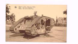 Ypres.Le Tank.Place De La Station. - Guerre 1914-18