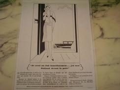 ANCIENNE PUBLICITE VOITURE OAKLAND DEVANT LA PORTE  1929 - Camions