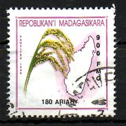 CENTRAFRICAINE. N°1825 Oblitéré De 2001. Culture Du Riz. - Agriculture